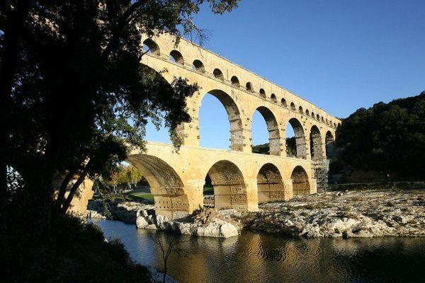 Le site du Pont-du-Gard