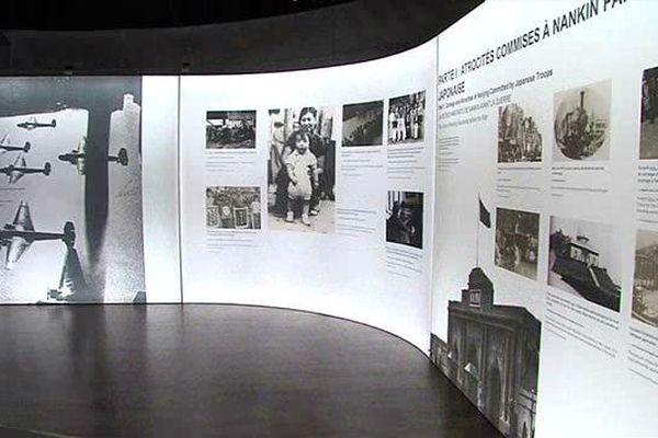 Jusqu'au 15 décembre, le Mémorial pour la paix de Caen consacre une exposition au x massacres de Nankin en décembre 1937.