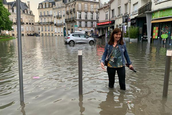 De nouvelles inondations ont dévasté l'avenue Jean Jaurès à Reims