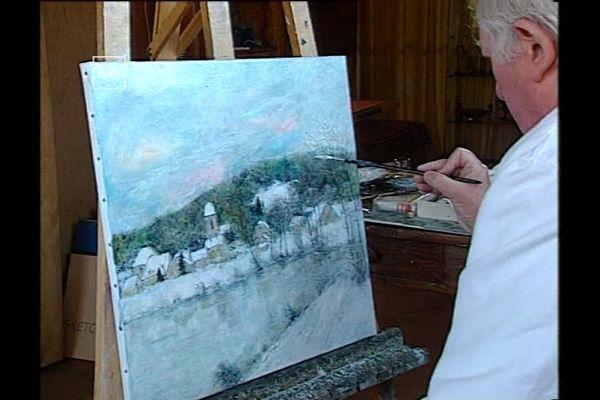 Belfort L Artiste Peintre Bernard Gantner Est Decede