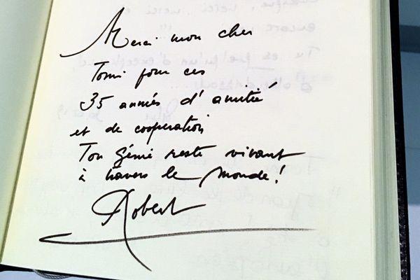 Signé Robert, 35 années d'amitié...