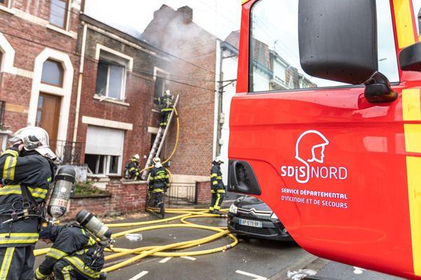 L'incendie a eu lieu avenue Général Leclerc, à Faches Thumesnil.