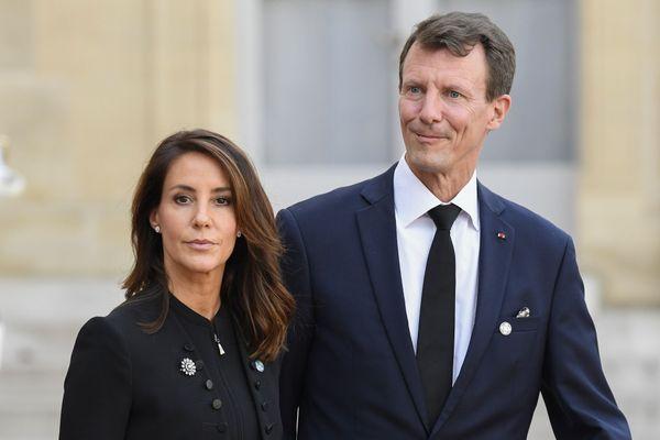Le prince Joachim de Danemark et la princesse Marie à l'Elysée le 30 septembre 2019. Ce vendredi 24 juillet 2020, le prince qui séjournait dans le département du Lot a été opéré d'un caillot sanguin au cerveau à l'hôpital de Toulouse