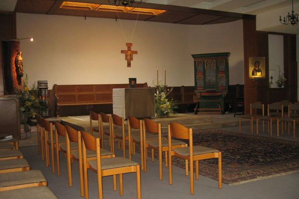 Une chapelle pour se recueillir et prier
