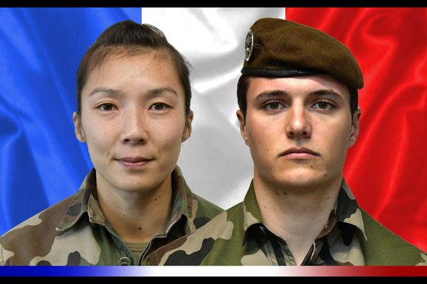 Le sergent Yvonne Huynh, 33 ans et le brigadier Loïc Risser, 24 ans, originaire de Saint-Louis ont été tués samedi 2 janvier au Mali
