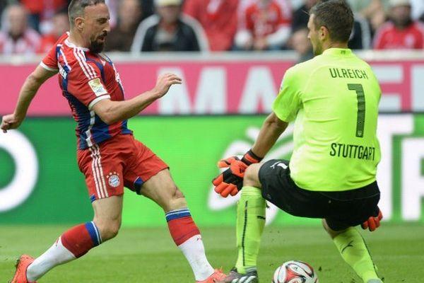 1er but de la saison pour Ribéry.