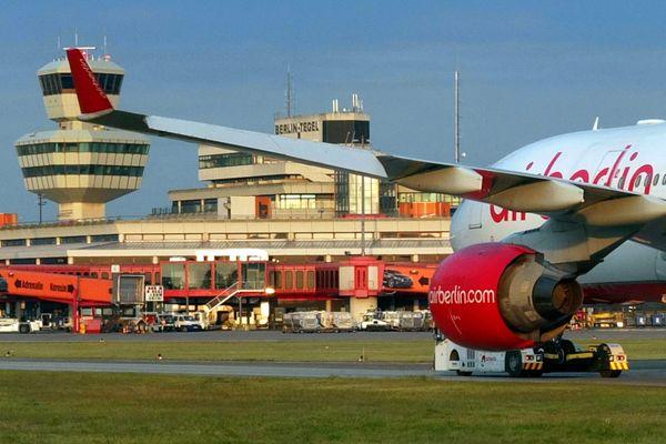 L'aéroport de Berlin-Tegel, le 5 mai 2014.