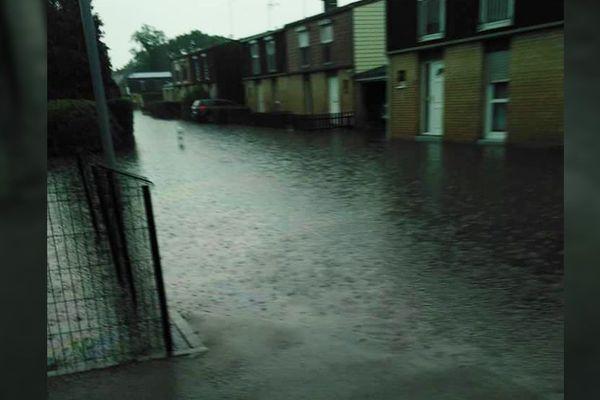 Inondations à Saint-Amand-les-Eaux ce jeudi