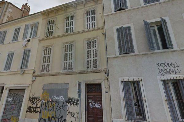 L'incendie s'est déclaré au 144 rue Horace Bertin, dans le 5e arrondissement.