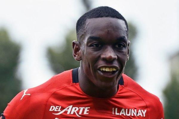 Faitout Maouassa évoluant à Rennes est prêté à Nîmes pour la saison 2018-2019