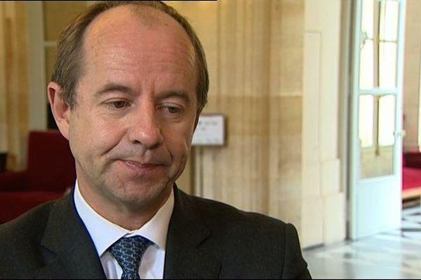 Jean-Jacques Urvoas, député PS du Finistère