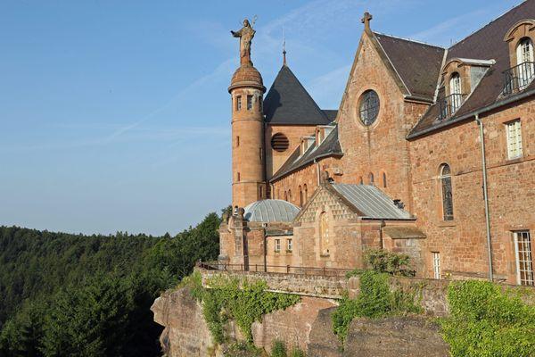 L'agression au couteau a eu lieu sur l'un des parkings en contrebas du monastère du Mont Sainte-Odile.