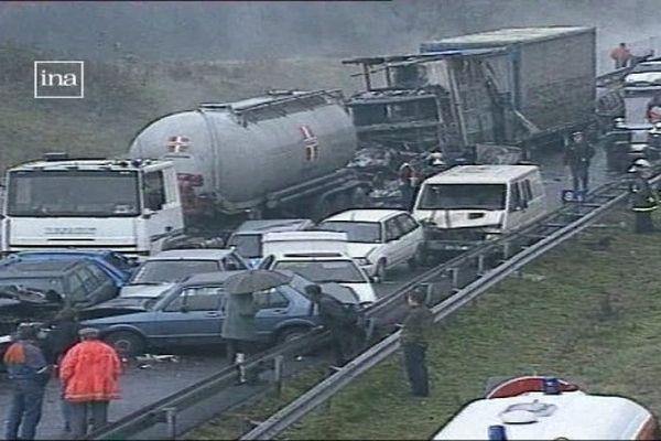 L'accident sur l'A41 en 1994