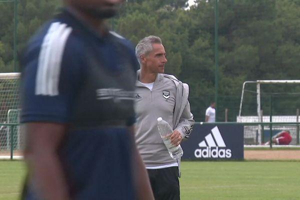 Paulo Sousa était bien à l'entraînement ce jeudi 16 juillet 20.