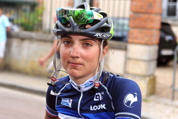 La coureuse cycliste Marion Sicot, en 2016.