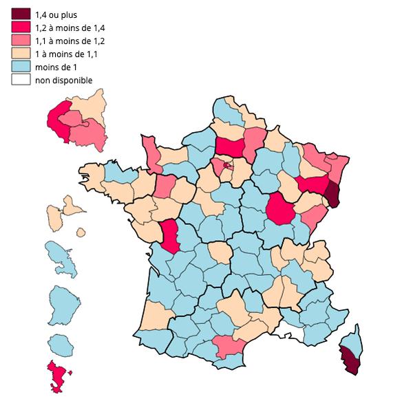 Pour 100 décès en 2019 dans les Alpes-Maritimes du 1 au 23 mars, il en a 98 en 2020 pour la même période.