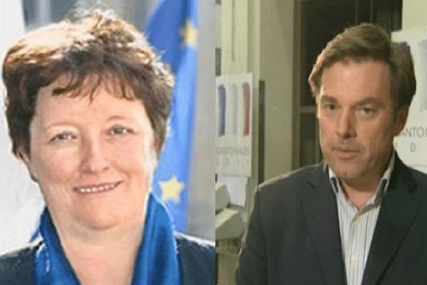 Brigitte Fouré et Hubert de Jenlis convoitent tous les 2 la tête de liste du Centre pour les municipales de 2014.