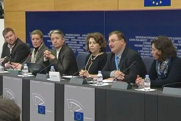 Le professeur Séralini à Strasbourg le 15 janvier 2013