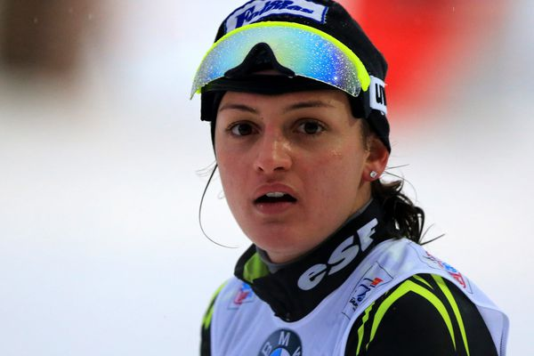 Célia Aymonier au Cross Country Ski World Cup, le 04 janvier 2014.