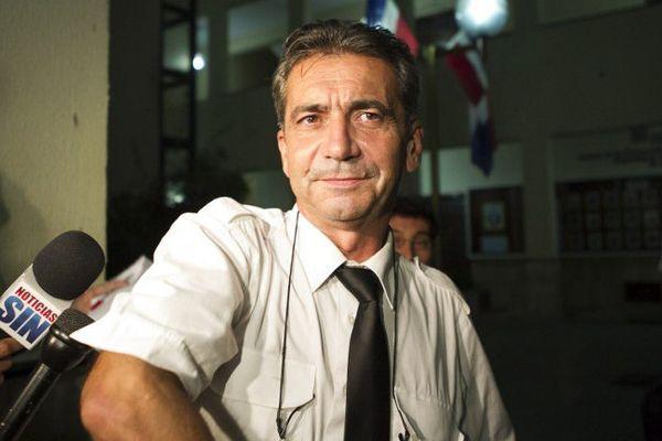 Bruno Odos, le 14 août 2015 en République dominicaine.