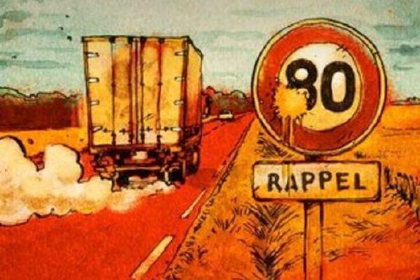 """Image Les Jours : """"Enquête à 80 km/h"""""""