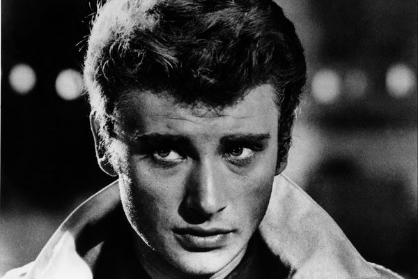 Johnny Hallyday, jeune