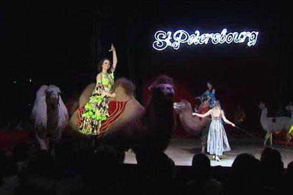 Cirque traditionnel installé sous chapiteau et avec dressage d'animaux, le cirque de Saint-Pétersbourg est à Clermont-Ferrand du 9 au 10 janvier.
