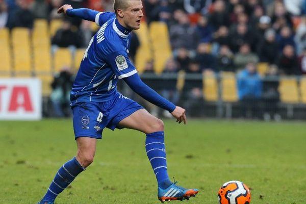 En inscrivant ses deux premiers buts de la saison, Stephane Darbion a donné la victoire à l'Estac