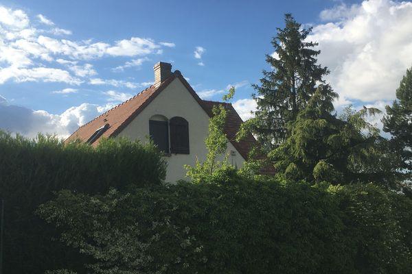 La maison du couple retrouvé mort à Ciry-Salsogne dans l'Aisne