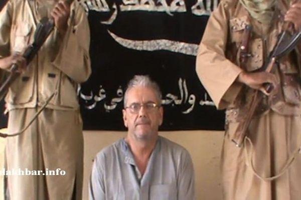 Gilberto Rodrigues - otage au Mali - novembre 2012 - capture d'écran site Alakhbar.info