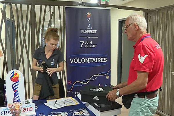 Montpellier - le recrutement des volontaires pour l'organisation de la Coupe du monde féminine de football a débuté - 11 juillet 2018.
