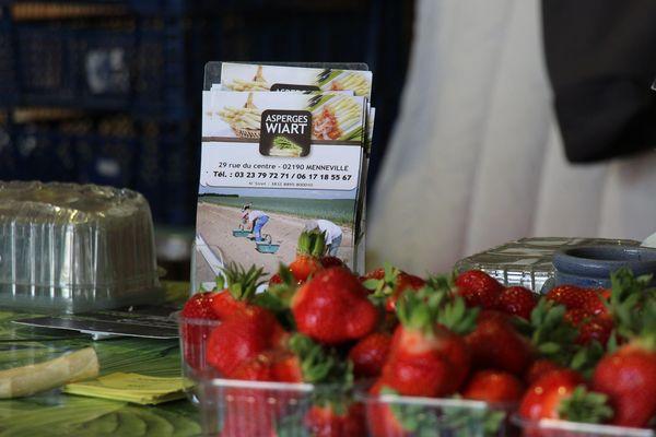 Les fraises comme les asperges seront bel et bien récoltées grâce à une main d'œuvre locale.