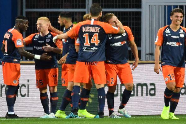 Montpellier - victoire 1 à 0 du MHSC face au Nîmes Olympique - 25 septembre 2019.