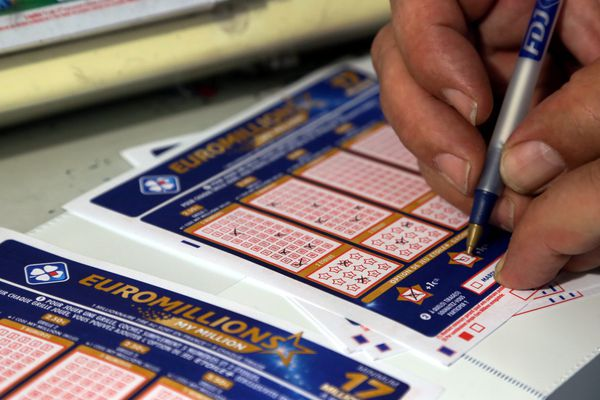 Un joueur a validé un ticket gagnant Euro Millions - My Million le 14 octobre 2016 à Courville-sur-Eure (28) (Illustration).