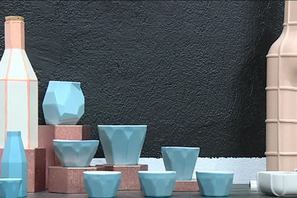 L'une des galeries de Vallauris, une ville labellisée pour la céramique