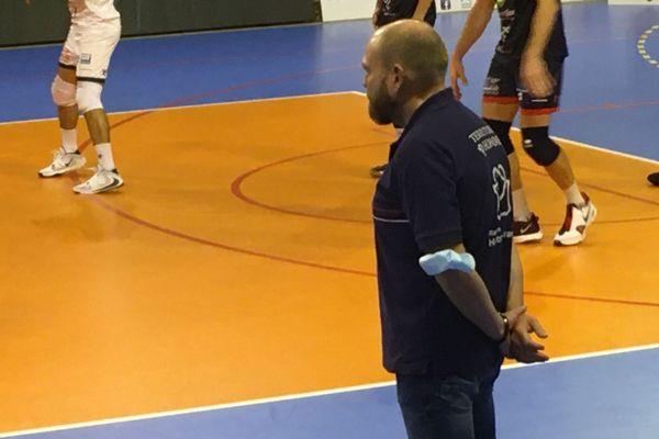 L'entraîneur cambraisien Gabriel Denys