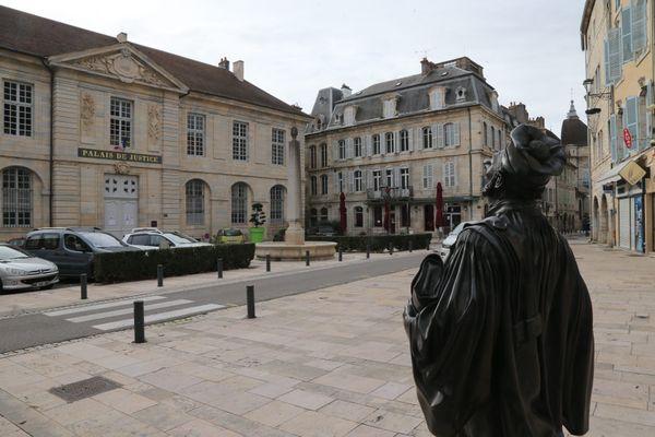 Le tribunal judiciaire de Vesoul en Haute-Saône.