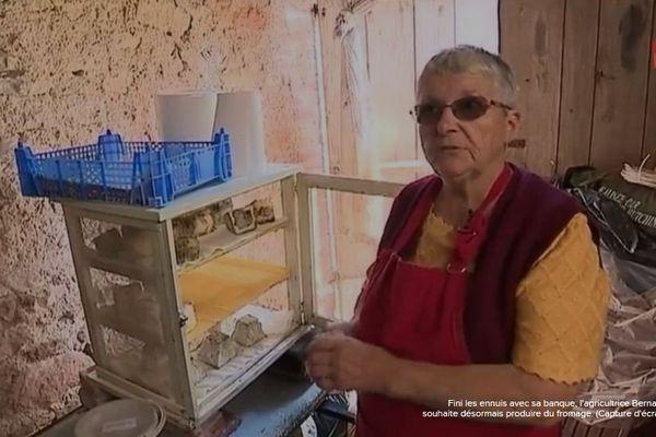 La petite exploitation de Bernadette dans l'Indre est sauvée par les internautes