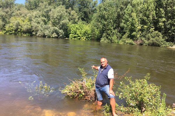 Les niveaux d'eau ne permettent pas l'activité canoë en toute sécurité