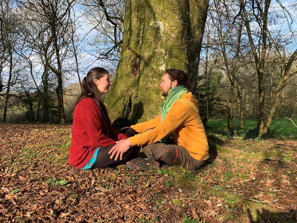 Gwenaëlle et Erwan vivent heureux auprès de leur arbre