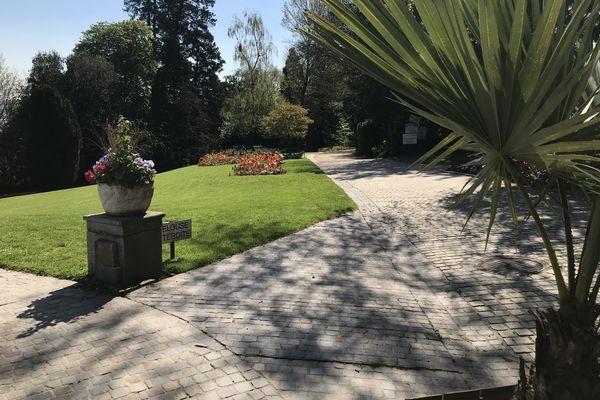 Le jardin de la Perrine : déja bien fleuri