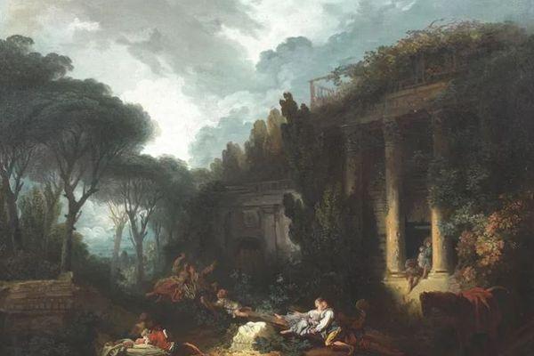 """""""La bascule"""" de Fragonard (Tajan) - archives"""