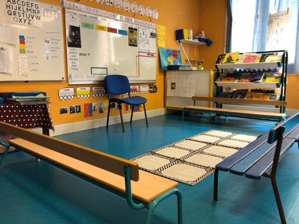 ILLUSTRATION / En Corse, les classes sont vides depuis plus de deux semaines, et devraient le rester encore plus d'un mois...