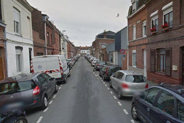 L'accident a eu lieu rue Fénelon à Lille-Hellemmes.