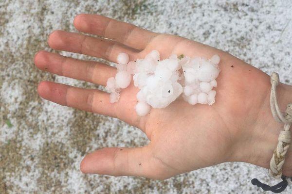 Un orage de grêle s'est abattu en fin d'après-midi ce mercredi 3 juin dans le sud-est de Rennes