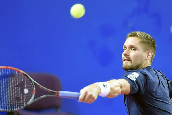 Le tennisman dijonnais Vincent Millot