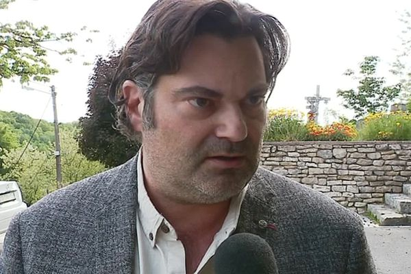 Randall Schwerdorffer avocat d'un des mis en examen pour harcèlement moral au magasin Leclerc d'Héricourt en Haute-Saône.