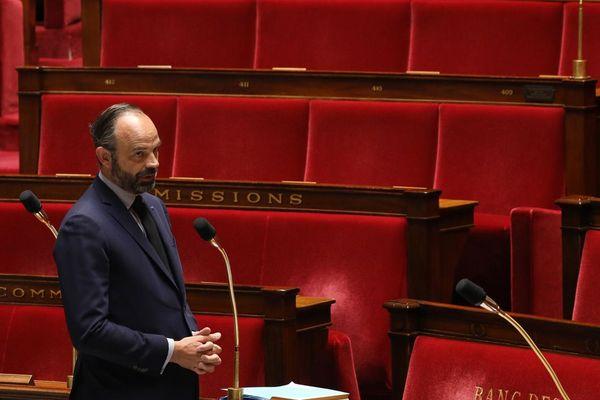 Edouard Philippe, le 14 avril 2020, à l'Assemblée nationale