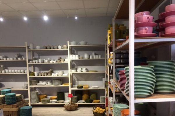 L'entreprise fabrique de la porcelaine depuis 1826