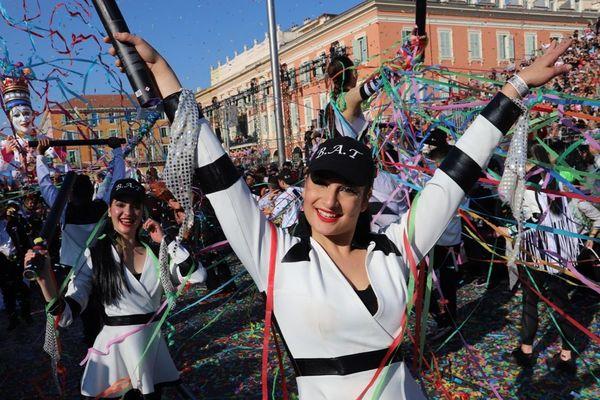 Le corso du carnaval de Nice dimanche 24 février.